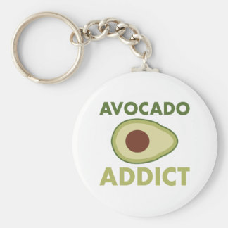 Avocado Addict Key Ring