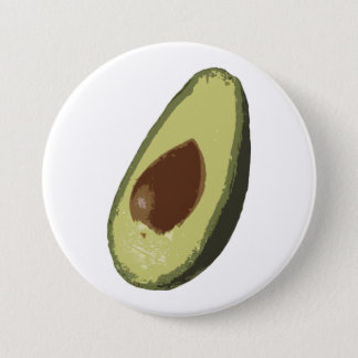 Avocado button badge