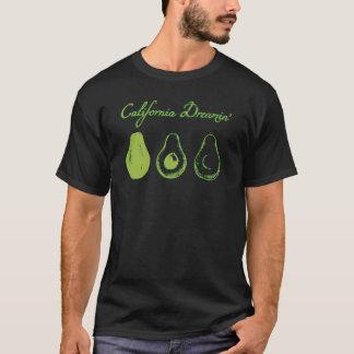 Avocado Dreaming | Black T-Shirt