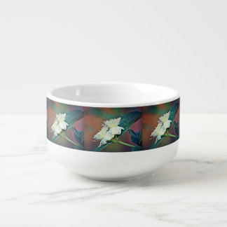 Avocado Flower Soup Bowl Soup Mug