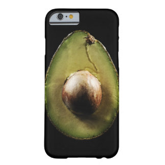 Avocado,Fruit,Black background Barely There iPhone 6 Case
