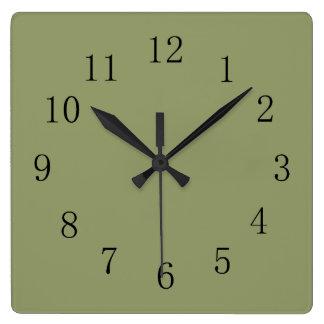 Square kitchen clocks kitchen wall clocks zazzle for Square wall clocks uk