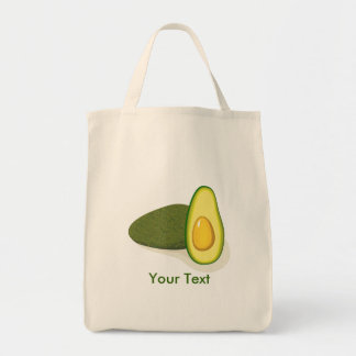 Avocado Grocery Tote Bag