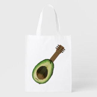 Avocado Guitar Reusable Bag
