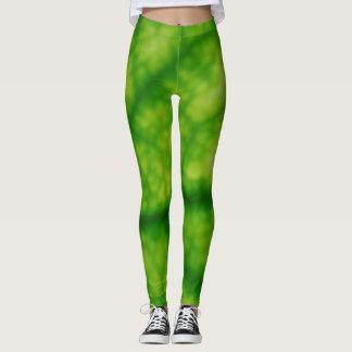 Avocado Leaf Print Leggings