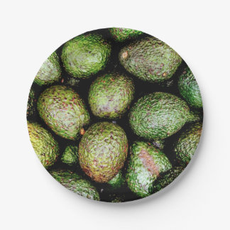 Avocado Paper Plates 7 Inch Paper Plate
