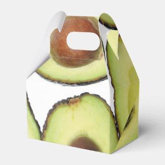 Avocado Pattern Favour Box
