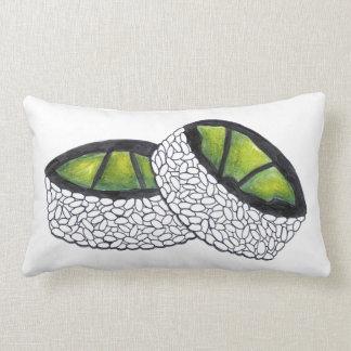 Avocado Roll Japanese Food Sushi Rolls Pillow