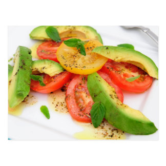 Avocado Salad Postcard