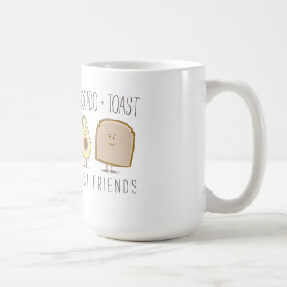 Avocado + Toast Best Friends Funny Mug
