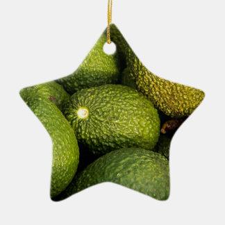 Avocados Christmas Ornament