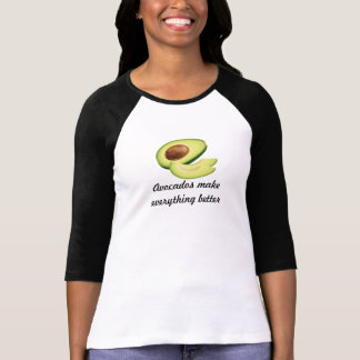 Avocados Make Everything Better Women's Bella 3/4 T-Shirt
