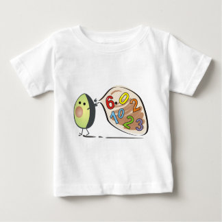 avocados numbers baby T-Shirt