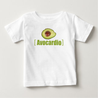 Avocardio Funny avocado Illustrated Pun Vegetable Baby T-Shirt