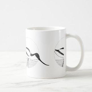 Avocet Monochrome Mug