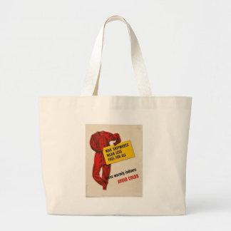Avoid Colds World War II Bags