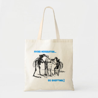 AVOID MOSQUITOS ~ GO SHOPPING:) BAGS OR TOTES