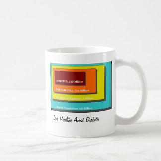 Avoidiabetes Basic White Mug