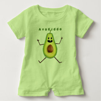 AvoKiddo Romper Baby Bodysuit