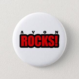Avon, Alabama City Design 6 Cm Round Badge