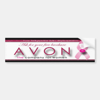 AVON Bumper Sticker Ask for your free brochure