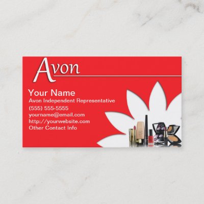 Avon business card zazzle reheart Images