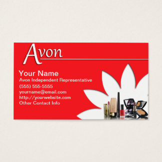Avon Business Card