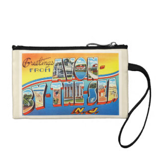 Avon by the Sea New Jersey NJ Vintage Postcard - Coin Purse