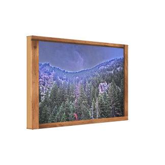 Avon Colorado mountain scenery canvas art Canvas Prints