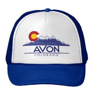 Avon Colorado wood mountains hat
