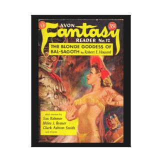 Avon Fantasy Reader 012 (1950.Avon)_Pulp Art Canvas Print