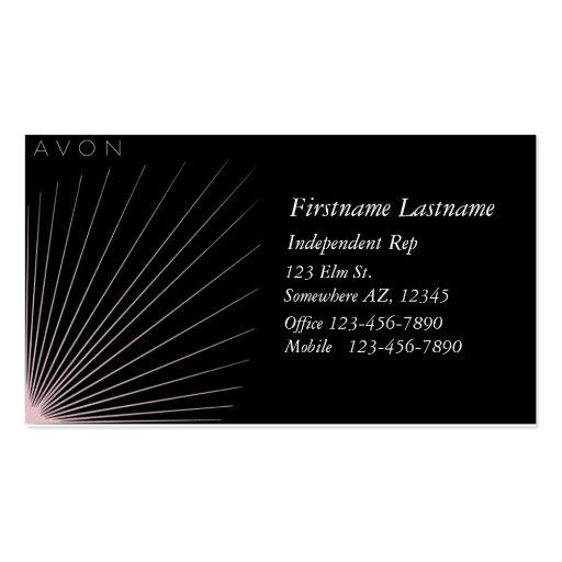 AVON Independent rep Business Card Templates