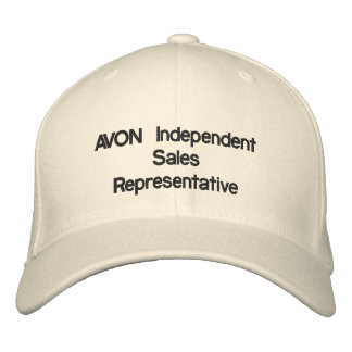 AVON Independent Sales Representative Embroidered Hats