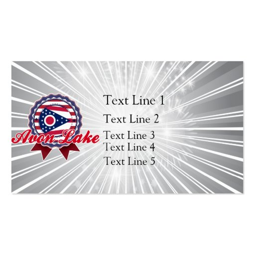 Avon Lake, OH Business Card Templates