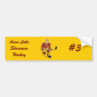 Avon Lake Shoremen Hockey Shorty Bumper Sticker