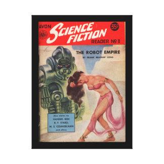 Avon Science Fiction Reader 03 (1952.Avon)_Pulp Ar Canvas Print