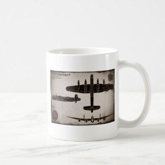 Avro 683 Lancaster 1 Basic White Mug