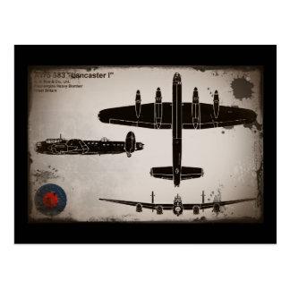 Avro 683 Lancaster 1 Postcard