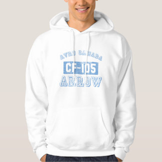 Avro Canada Arrow - BLUE Hoodie