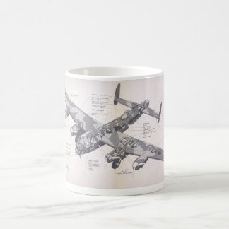 Avro Lancaster Mk X Coffee Mug
