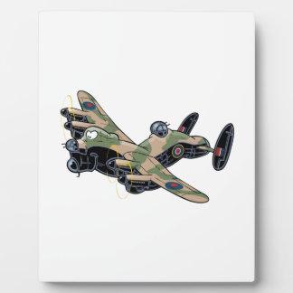 Avro Lancaster Plaque