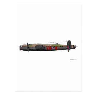 Avro Lancaster Postcard