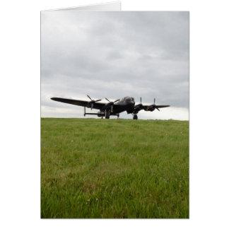 Avro Lancaster Taxiing Card
