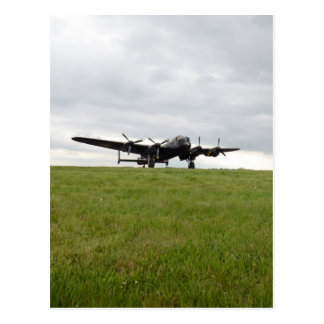 Avro Lancaster Taxiing Postcard