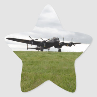 Avro Lancaster Taxiing Star Sticker