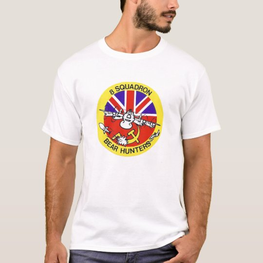 "Avro Shackleton 8 Squadron ""Bear Hunters"" T-shirt"