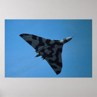 Avro Vulcan B2 XH-558 Poster