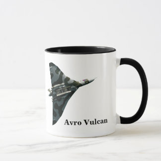 Avro Vulcan Bomber with your monogram Mug
