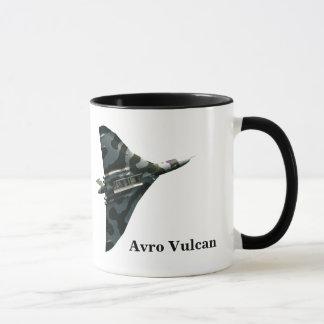 Avro Vulcan Bomber with your monogram Mug