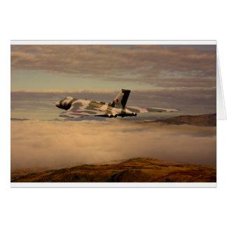 Avro Vulcan Bomber XH558 Card